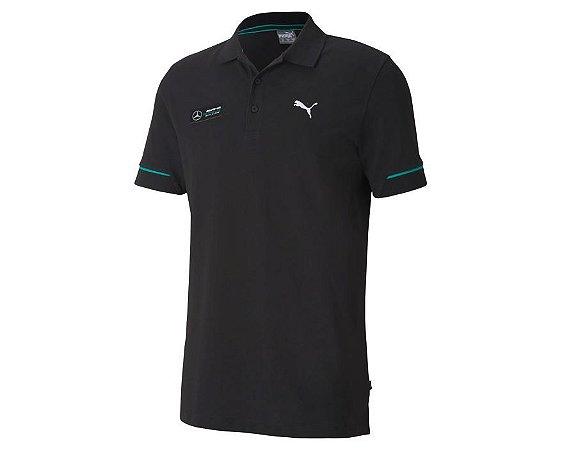 Camisa Polo Puma Mercedes AMG Petronas - Preta