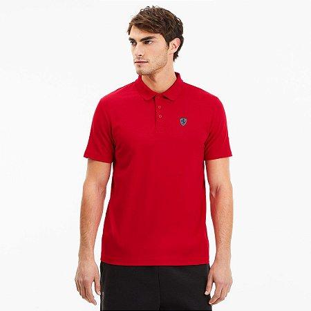 Camisa Polo Puma Scuderia Ferrari Especial - Vermelha