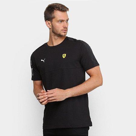 Camiseta Puma Ferrari T7 Tee - Preta