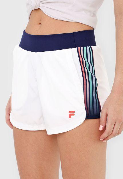 Shorts Fila Journey - Branco