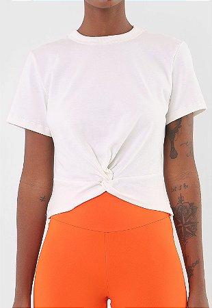 Camiseta Colcci Fitness Off Shell - Branca
