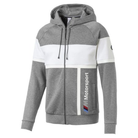 Jaqueta Puma Bmw MMS Hooded - Cinza