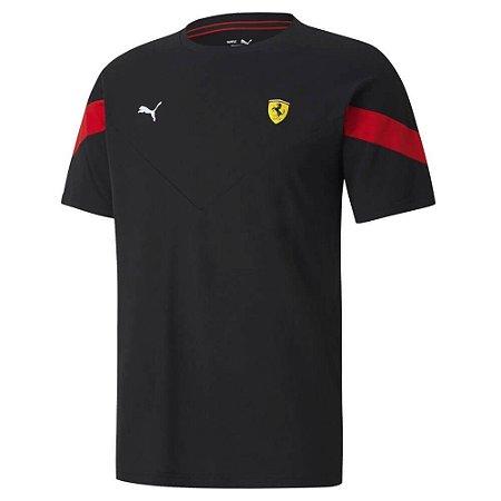 Camiseta Puma Ferrari Race MCS Tee - Preta