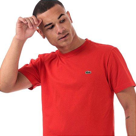 Camiseta Lacoste Ultra Light - Vermelho