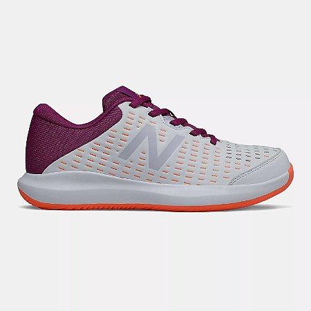 Tênis New Balance 696 V4 - Branco e Roxo - Feminino