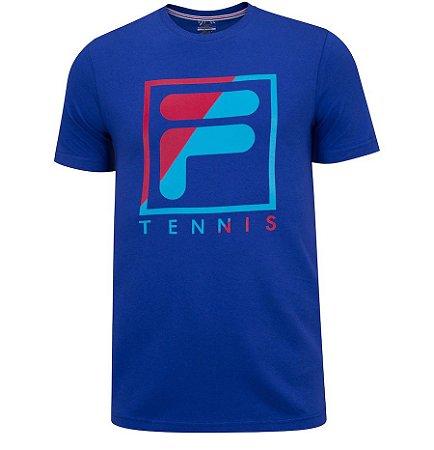 Camiseta Fila Soft Urban Acqua - Azul Roy