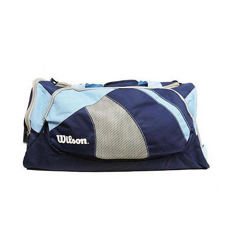 Bolsa Wilson Esportiva Azul Claro/Escuro Único