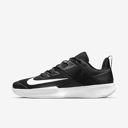 Tênis Nike Court Vapor Lite HC - Preto e Branco