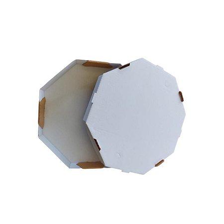 Cx Pizza 35 CM - 35X35X4 cm. Pacote c/ 25 unid. Valor unid. R$ 3,24