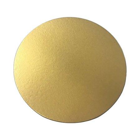 Disco Liso Dourado 23 - Diâmetro 230 mm Pacote com 10 unidades