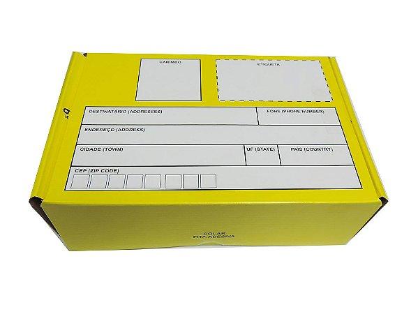 Caixa para Encomendas 21 - C 210 x L 145 x A 70 mm. Pacote com 10 unidades