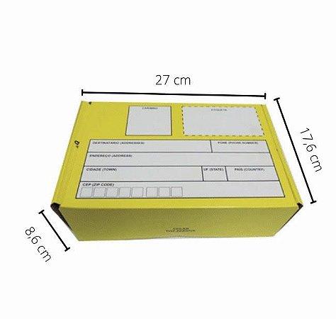 EX-9722 -  27x17,6x8,6 cm. Pacote C/ 10. Valor unid. R$ 4,59