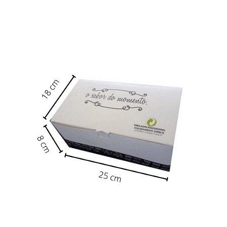 Cx H04 -  25x18x8cm. Pacote com 50 unid. Valor unid. R$ 2,89