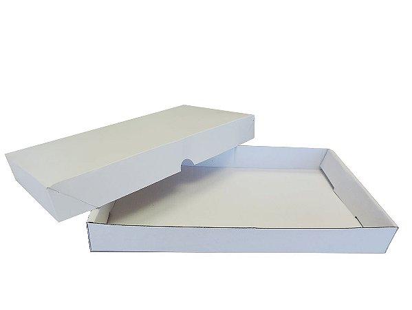 Caixa Doce e Salgado 02- C 340 x L 183 x A 40 mm.  Pacote com 10 unidades
