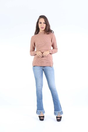 BLUSA TRICOT HAPPY HOUR TERMO - BLUSH