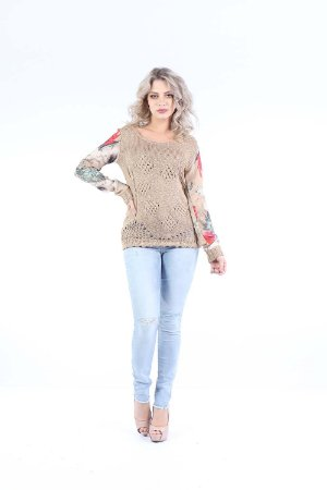 BLUSA TRICO CASUAL - WINTER RED