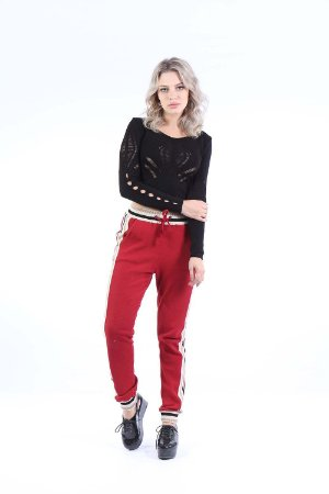 CROPPED TRICO HAPPY HOUR - PRETO