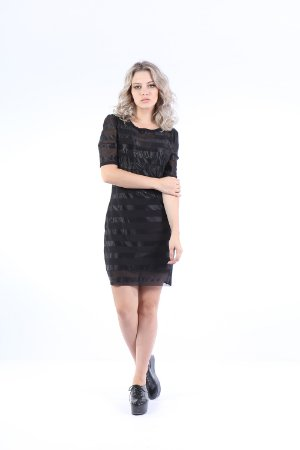 VESTIDO HAPPY HOUR TULE - PRETO