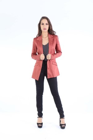 BLAZER HAPPY HOUR SPAN - COBRE