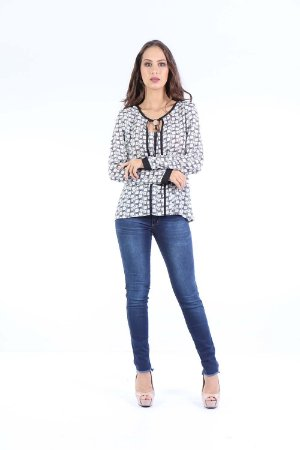 CAMISA CASUAL - MINI LEOPARD OFF