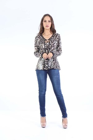 CAMISA CASUAL - BROWN CHIC