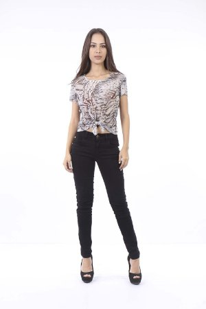 CROPPED CASUAL AMARRACAO FRONTAL - DARKER LEAVS