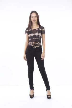 CROPPED CASUAL AMARRACAO FRONTAL - WASHED