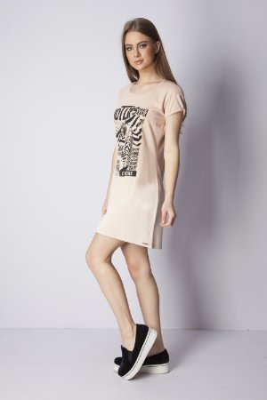 VESTIDO DRESS ROCK 1 - BEGE