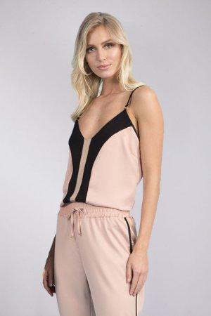 BLUSA ALÇA HAPPY HOUR SATIN - ROSA KIM