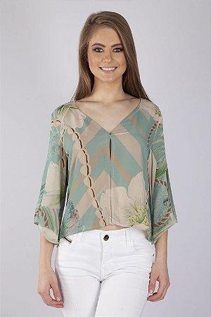 Camisa Bana Bana Estampada Verde - Loja virtual Bana Bana d015ea141a4aa