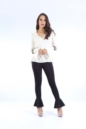 CAMISA CASUAL - BEGE
