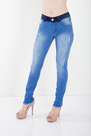Calça Jeans Bana Bana Low Jegging Azul