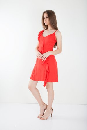 VESTIDO HAPPY HOUR COLLOR - CORAL
