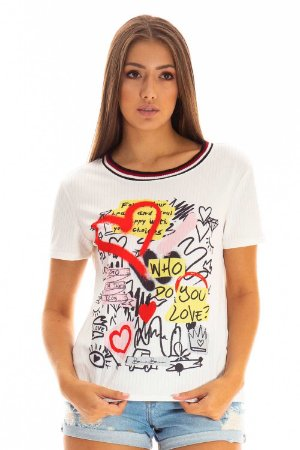 T-Shirt Bana Bana  Casual Estampada