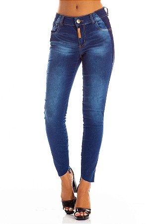 Calça Jeans Bana Bana Midi Skinny com Reserva