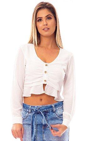 Camisa Bana Bana Off White