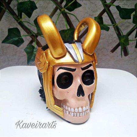 Caveira Loki (Pequena)