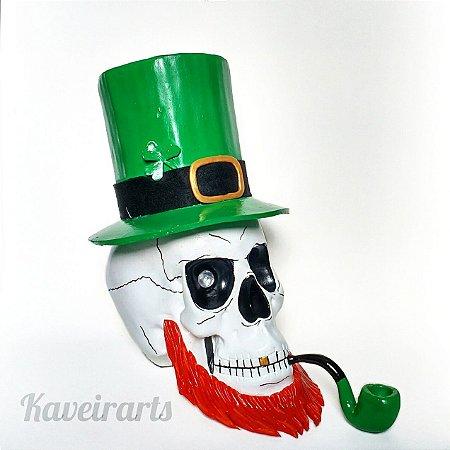 Caveira St Patrick's day (Grande)