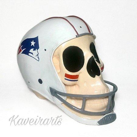Caveira Jogador Futebol Americano