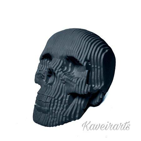 Caveira MDF 3D