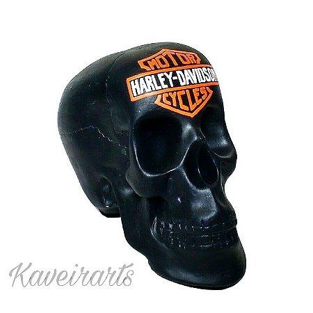 Caveira Harley Davidson (Grande)