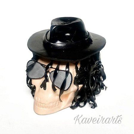 Caveira Michael Jackson (Pequena)