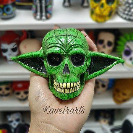 Caveira Mestre Yoda (Pequena)