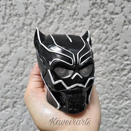 Caveira Pantera Negra (Pequena)