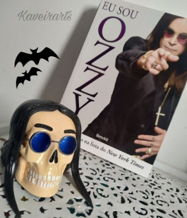 Caveira Ozzy Osbourne (Pequena)