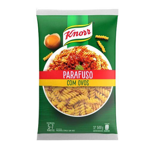 MASSA KNORR 500G PARAFUSO COM OVOS