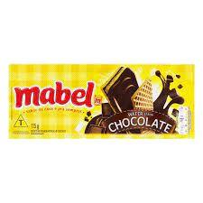 BISCOITO MABEL 115G WAFER CHOCOLATE