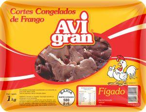 FIGADO DE FRANGO AVIGRAN 1KG BANDEIJA