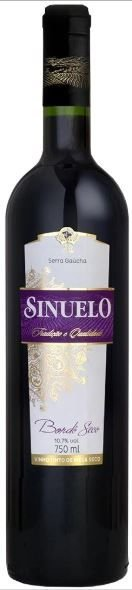 Vinho Sinuelo 750Ml Tinto Seco