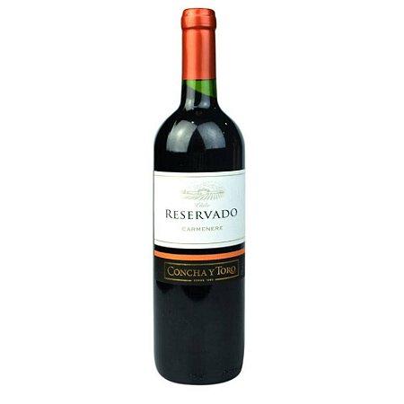 Vinho Reservado 750Ml Carmenere Tinto Seco